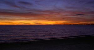 Long-beach Sunset